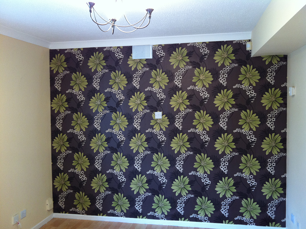 More Wallpapering examples